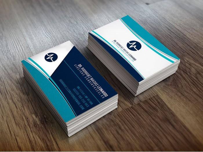 Tarjetas Personales 5x9 Premium laminado mate y hot stamping oro o plata